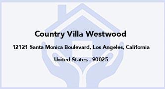 Country Villa Westwood