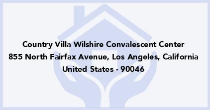 Country Villa Wilshire Convalescent Center