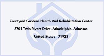 Courtyard Gardens Health And Rehabilitation Center