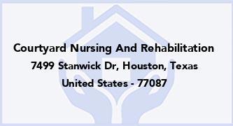 Courtyard Nursing And Rehabilitation