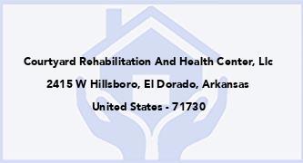 Courtyard Rehabilitation And Health Center, Llc