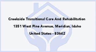 Creekside Transitional Care And Rehabilitation