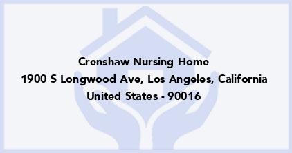 Crenshaw Nursing Home