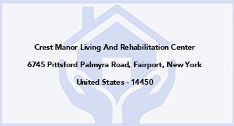 Crest Manor Living And Rehabilitation Center