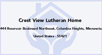 Crest View Lutheran Home