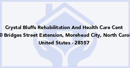 Crystal Bluffs Rehabilitation And Health Care Cent