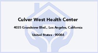 Culver West Health Center