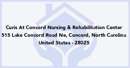 Curis At Concord Nursing & Rehabilitation Center