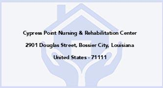 Cypress Point Nursing & Rehabilitation Center