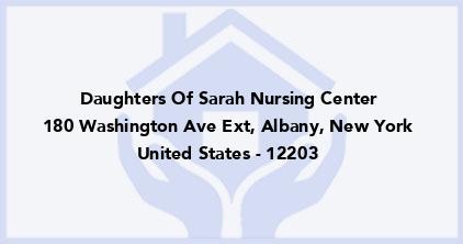 Daughters Of Sarah Nursing Center