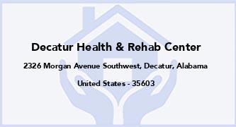 Decatur Health & Rehab Center