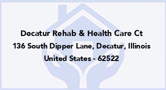 Decatur Rehab & Health Care Ct