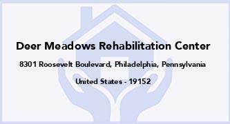 Deer Meadows Rehabilitation Center