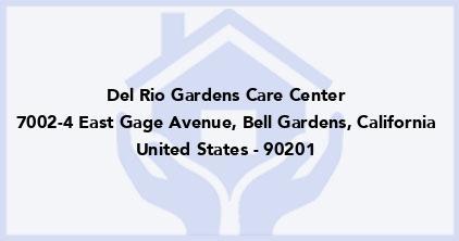 Del Rio Gardens Care Center