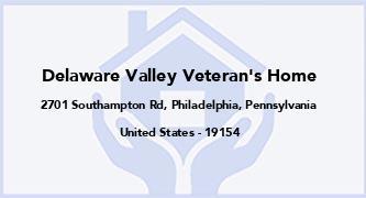 Delaware Valley Veteran'S Home