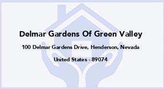 Delmar Gardens Of Green Valley