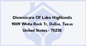 Diversicare Of Lake Highlands