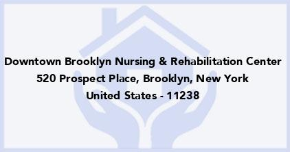 Downtown Brooklyn Nursing & Rehabilitation Center