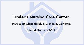 Dreier'S Nursing Care Center