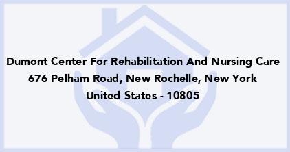 Dumont Center For Rehabilitation And Nursing Care