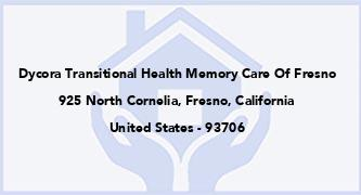 Dycora Transitional Health Memory Care Of Fresno