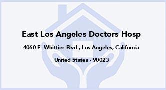 East Los Angeles Doctors Hosp