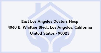 East Los Angeles Doctors Hosp