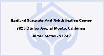 Eastland Subacute And Rehabilitation Center