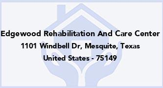Edgewood Rehabilitation And Care Center