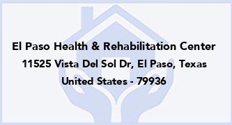 El Paso Health & Rehabilitation Center