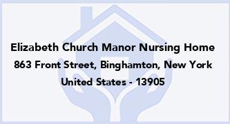 Elizabeth Church Manor Nursing Home