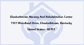 Elizabethtown Nursing And Rehabilitation Center