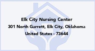 Elk City Nursing Center