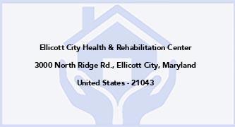 Ellicott City Health & Rehabilitation Center