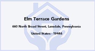 Elm Terrace Gardens