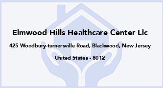 Elmwood Hills Healthcare Center Llc