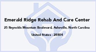 Emerald Ridge Rehab And Care Center