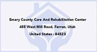 Emery County Care And Rehabilitation Center