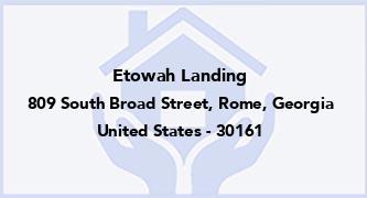 Etowah Landing