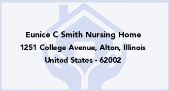 Eunice C Smith Nursing Home