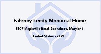 Fahrney-Keedy Memorial Home