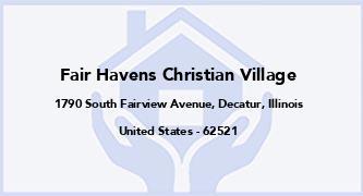 Fair Havens Christian Village