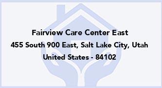 Fairview Care Center East