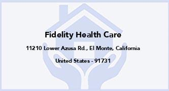 Fidelity Health Care