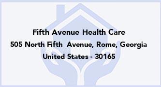 Fifth Avenue Health Care