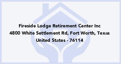 Fireside Lodge Retirement Center Inc