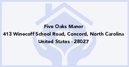 Five Oaks Manor