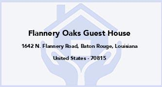 Flannery Oaks Guest House