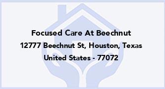 Focused Care At Beechnut
