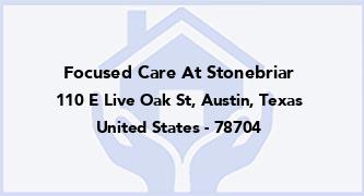 Focused Care At Stonebriar